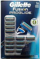 Gillette Fusion ProGlide 16 шт. на планшете