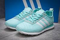 Кроссовки женские Adidas Lite, бирюзовые (13415) размеры в наличии ► [  37 39 41  ] (реплика), фото 1