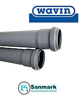 Труба канализационная Wavin д.75х1 м