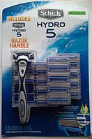 Schick HYDRO 5 + 15 картриджей