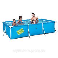 Каркасный детский бассейн Bestway 56222 (3*2*0,6 м; прямоугольный)