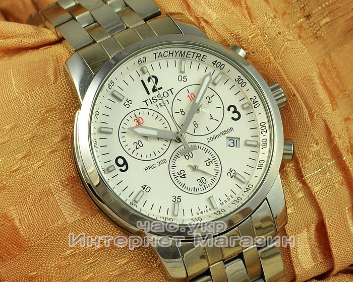 Мужские наручные часы Tissot PRC T17.1.586.32 replica кварцевый хронограф тиссот качество