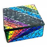 Шкатулка для украшений мозаичная (17х17х8 см) ( 24279)