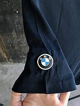 Мужская футболка Puma BMW. Темно синяя, фото 3