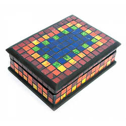 Шкатулка для украшений мозаичная (18х13х5,5 см)24301 ( 24301)