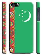 Чехол Туркменистан флаг для iPhone 5/5s