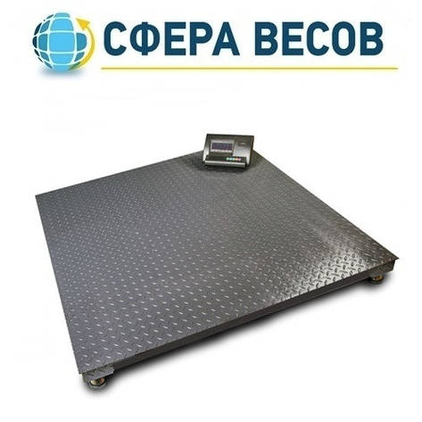 Весы платформенные ВПЕ-12Е (500 кг, 1000x1000 мм), фото 2