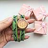 Часы Питон зеленые