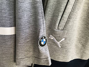 Мужская футболка Puma BMW.Серая , фото 2