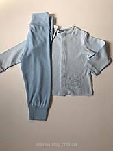 Дитяча піжама Impidimpi на хлопчика 6-12 міс ріст 74-80