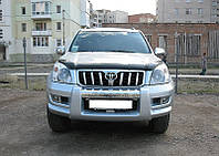 Дефлектор капота TOYOTA LAND CRUISER PRADO 120 2001-2008 (Тойота Ленд Крузер Прадо 120) SIM