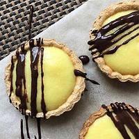 Мини-тарты с лимонным курдом