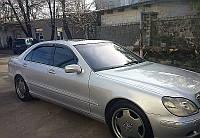 Дефлекторы стекол Mercedes Benz S-klasse (W220) Long 1998-2005 (Мерседес-бенц С-класс) Cobra Tuning