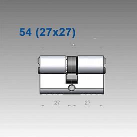 Цилиндр Mul-T-Lock 7х7 54 мм (27х27)