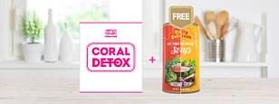 Акция! При покупке Coral Detox любой суп быстрого приготовления - на Ваш выбор!