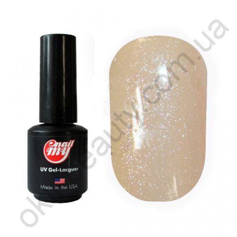 Гель-лак My Nail 9 ml №103 (бледно персиковый с мелкой блёсткой)
