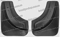Брызговики Skoda Fabia II (Шкода Фабия 2) (2 шт) задние (Lada Locker)