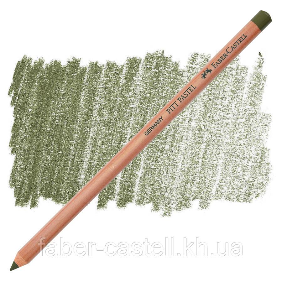 Карандаш пастельный Faber-Castell PITT оливково-желтый  ( pastel olive green yellowish) № 173, 112273