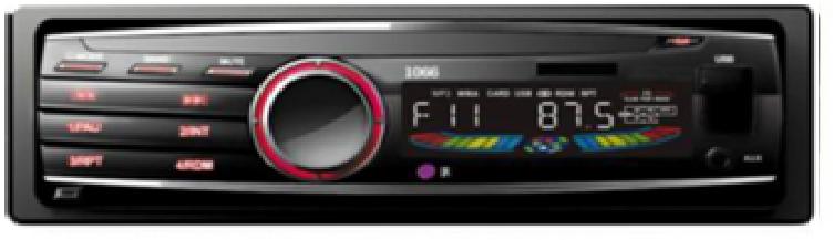 Автомагнітола DEH-P1066 USB, CD MP3 магнітола карта