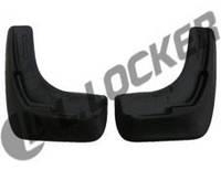 Брызговики Citroen C4 HB (11-) (Ситроен С4) (2 шт) передние (Lada Locker)
