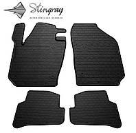 Автомобильные коврики Skoda Fabia III 2015- Комплект из 4-х ковриков Черный в салон