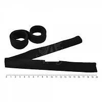 Твистер велюровый черный Хеагами (Hairagami)