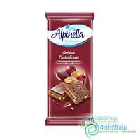 Шоколад Молочный Alpinella С Изюмом И Орехом 90Г