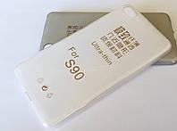 Чехол силиконовый ультратонкий для Lenovo S90 Sisley