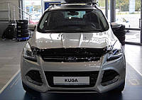 Мухобойка +на капот  FORD KUGA 2013- (Форд Куга) SIM