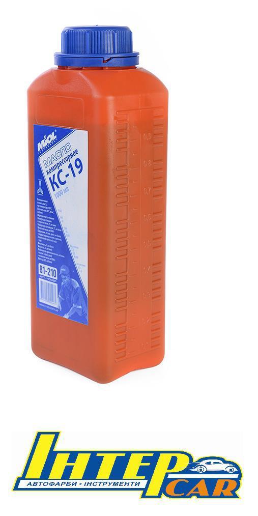 Масло компрессорное КС-19 1л.