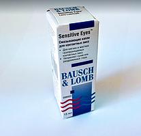 Увлажняющие капли для глаз Bausch & Lomb, Sensitive Eyes