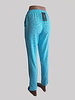 Летние тонкие брюки Бирюзовая шанель