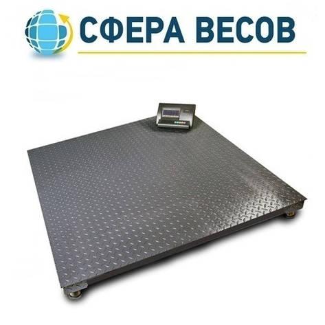 Весы платформенные ВПЕ-12Е (1000 кг, 1000x1000 мм), фото 2