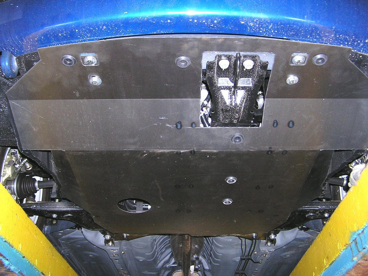 Защита двигателя Chery Elara I поколение 2006-2011 V-2,0,МКПП,двигун, КПП, радиатор (Чери Элара I)