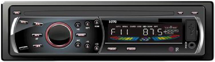 Автомагнитола Pioneer DEH-P1070UB USB, с CD MP3 карта магнитола,