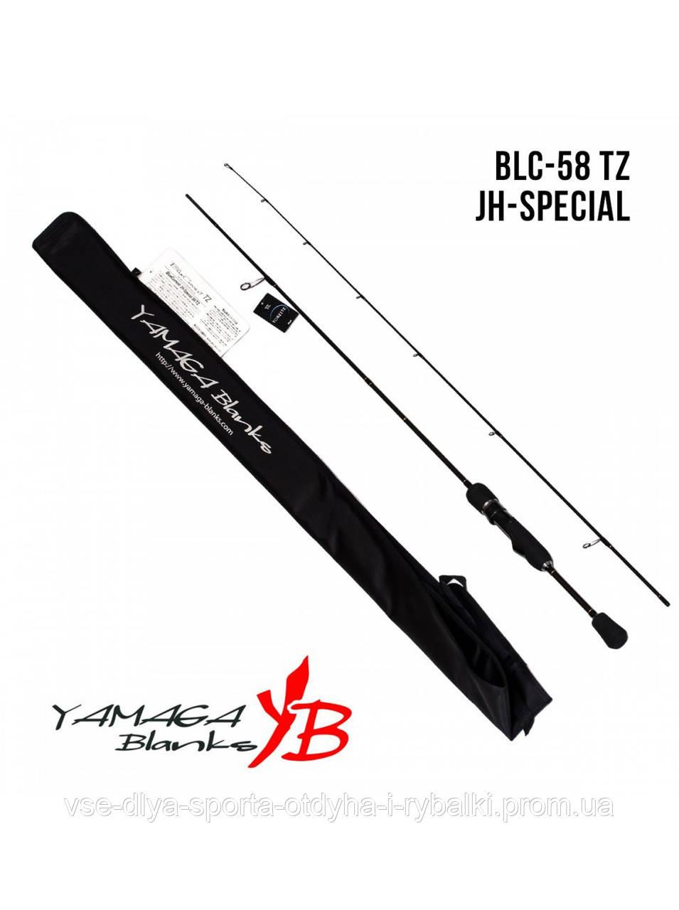 Удилище Yamaga Blanks Blue Current TZ BLC-58/Tz JH-Special