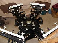 Карусели 3х3, 2х4, 4х4, 4х6, Оборудование для шелкографии с возможностью расширения