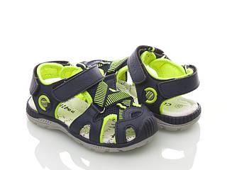 Обувь детская, босоножки для мальчиков с защитным носком Clibee (Румыния)