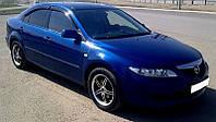 Дефлекторы стекол Mazda 6 I Hb 5d 2002-2007 (Мазда 6) Cobra Tuning