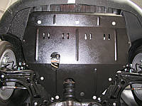 Защита картера Seat Ibiza 2007- V-всі,двигун, КПП, радіатор ( Сеат Ибиза) (Kolchuga)