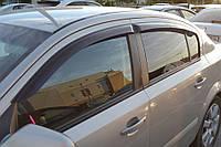 Дефлекторы боковых стекол Opel Astra H Sd 2007 (Опель Астра) Cobra Tuning