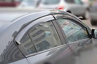 Дефлекторы стекол Mazda 3 II (BL) Sd 2009 (Мазда 3) Cobra Tuning