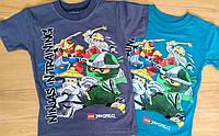 """Модная детская футболка """"Ninjago"""" для мальчиков 5,6,7 лет"""
