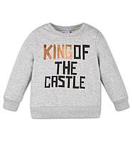 Кофта на байке King of the castle на мальчика 5-6 и 6-7 лет Размер 116, 122