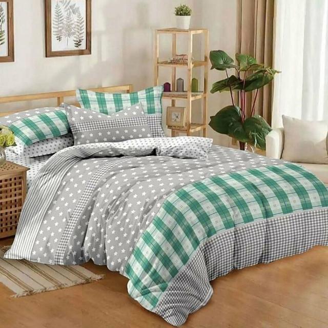 Семейное постельное белье из поплина