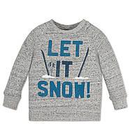 Кофта на мальчика Let it snow! на мальчика  5 и 6 лет C&A Германия Размер 110 и 116