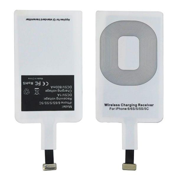 Ресивер приемник адаптер для беспроводной зарядки QI micro usb