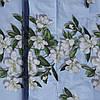 Бязь Голд Цветок Вишни на Голубом фоне, фото 2