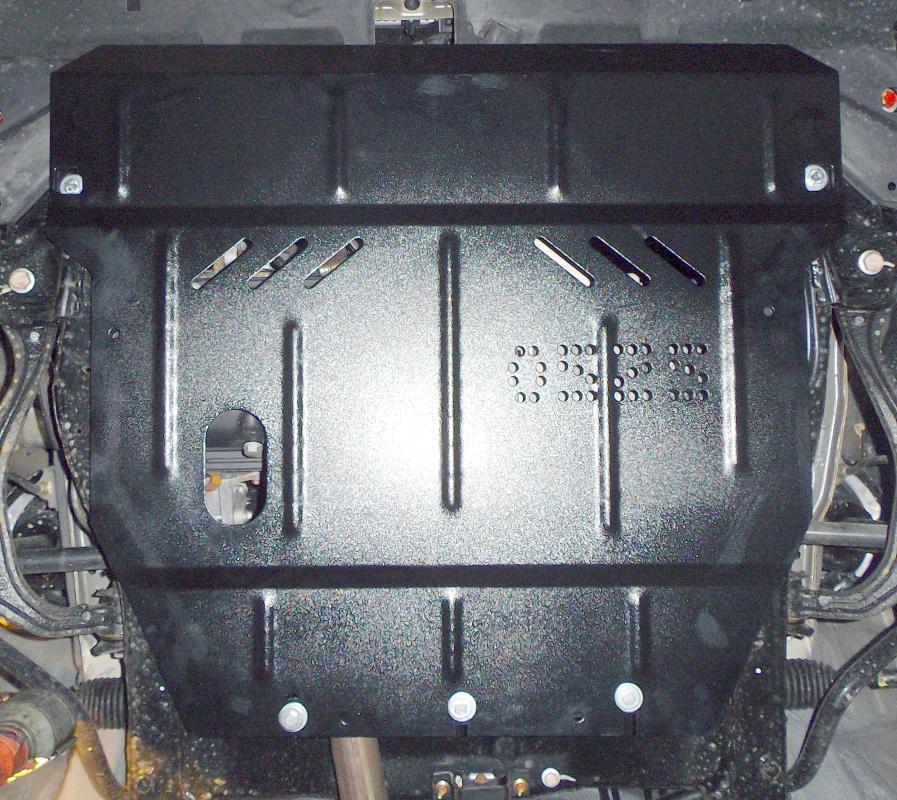 Защита картера BYD G6 2013- V 2,0,МКПП,двигун, КПП, радиатор (БАД Ж-6) (Kolchuga)