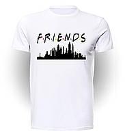 Футболка мужская размер L GeekLand Друзья Friends City F..01.001